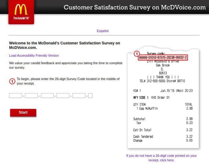 mcdvoice com satisfaction survey 2021